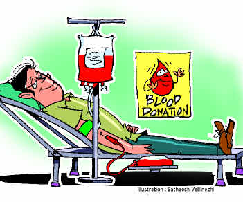 the process of donating blood If you meet the requirements for donating blood, you will then go through a screening process at this time a technician will take important vital signs, such as.
